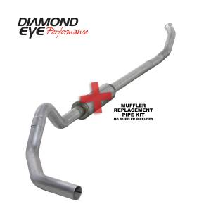Engine & Performance - Exhaust  Systems - Diamond Eye Performance - Diamond Eye Performance 2004.5-2007.5 DODGE 5.9L CUMMINS 2500/3500 (ALL CAB AND BED LENGTHS)-4in. ALUMIN K4232A-RP