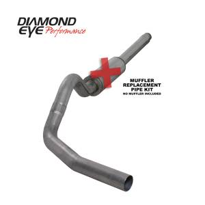 Engine & Performance - Exhaust  Systems - Diamond Eye Performance - Diamond Eye Performance 1994-1997.5 FORD 7.3L POWERSTROKE F250/F350 (ALL CAB AND BED LENGTHS) 4in. 409 S K4310S-RP