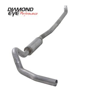 2006-2007 GM 6.6L LLY/LBZ Duramax - Exhaust - Diamond Eye Performance - Diamond Eye Performance 2001-2007.5 CHEVY/GMC 6.6L DURAMAX 2500/3500 (ALL CAB AND BED LENGTHS)-4in. ALUM K4114A