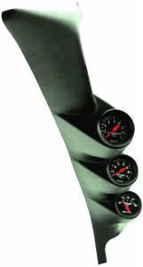 AutoMeter - AutoMeter Diesel Gauge Kit; A-Pillar; Ford 99-07; Boost/EGT/Trans; 35psi/1600deg. F/250deg 7072