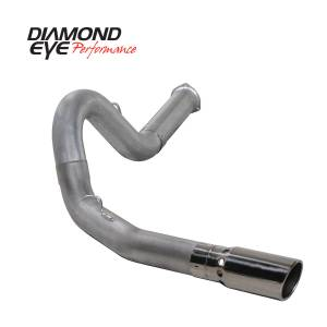 2007.5-2010 GM 6.6L LMM Duramax - Exhaust - Diamond Eye Performance - Diamond Eye Performance 2007.5-2010 CHEVY/GMC 6.6L DURAMAX 2500/3500 (ALL CAB AND BED LENGHTS) 5in. ALUM K5134A