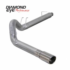 2008-2010 Ford 6.4L Powerstroke - Exhaust - Diamond Eye Performance - Diamond Eye Performance 2008-2010 FORD 6.4L POWERSTROKE F250/F350 (ALL CAB AND BED LENGTHS) 5in. ALUMINZ K5364A