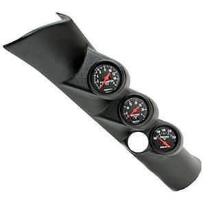 Interior Accessories - Gauges & Pods - AutoMeter - AutoMeter Diesel Gauge Kit; A-Pillar w/spkr; RAM 98-02; Boost/EGT/Trans; 35psi/1600deg. F/ 7092