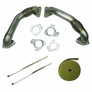 Engine & Performance - Turbo Chargers & Components - BD Diesel - BD Diesel UpPipes Kit - Chevy 2001-2015 6.6L Duramax 1043800