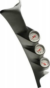 AutoMeter - AutoMeter Diesel Gauge Kit; A-Pillar; Ford 99-07; Boost/EGT/Trans; 35psi/1600deg. F/250deg 7075