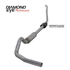 Engine & Performance - Exhaust  Systems - Diamond Eye Performance - Diamond Eye Performance 1994-1997.5 FORD 7.3L POWERSTROKE F250/F350 (ALL CAB AND BED LENGTHS) 4in. ALUMI K4306A