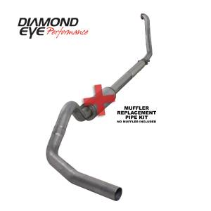 Engine & Performance - Exhaust  Systems - Diamond Eye Performance - Diamond Eye Performance 1994-1997.5 FORD 7.3L POWERSTROKE F250/F350 (ALL CAB AND BED LENGTHS) 4in. 409 S K4307S-RP