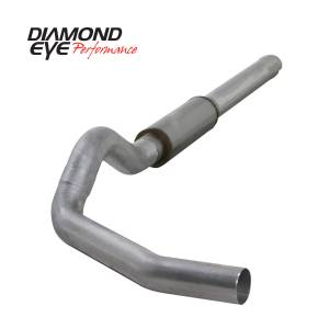 Engine & Performance - Exhaust  Systems - Diamond Eye Performance - Diamond Eye Performance 2004.5-2007.5 DODGE 5.9L CUMMINS 2500/3500 (ALL CAB AND BED LENGTHS)-5in. ALUMIN K5244A