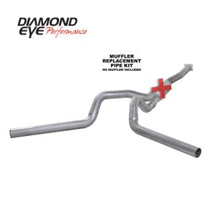 2004.5-2005 GM 6.6L LLY Duramax - Exhaust - Diamond Eye Performance - Diamond Eye Performance 2001-2005 CHEVY/GMC 6.6L DURAMAX 2500/3500 (ALL CAB AND BED LENGTHS)-4in. ALUMIN K4112A-RP