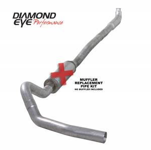 Engine & Performance - Exhaust  Systems - Diamond Eye Performance - Diamond Eye Performance 2001-2007.5 CHEVY/GMC 6.6L DURAMAX 2500/3500 (ALL CAB AND BED LENGTHS)-4in. ALUM K4113A-RP