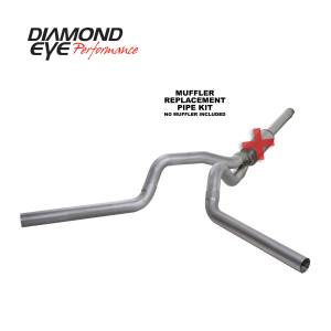 Engine & Performance - Exhaust  Systems - Diamond Eye Performance - Diamond Eye Performance 1994-1997.5 FORD 7.3L POWERSTROKE F250/F350 (ALL CAB AND BED LENGTHS) 4in. ALUMI K4312A-RP