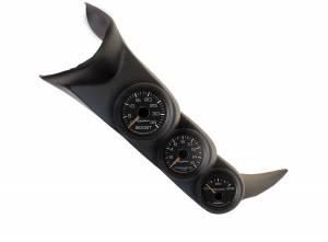 AutoMeter - AutoMeter Diesel Gauge Kit; A-Pillar; GM 01-07; Boost/EGT/Trans; 35psi/1600deg. F/250deg. 7086