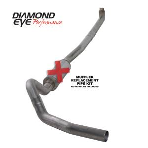 Engine & Performance - Exhaust  Systems - Diamond Eye Performance - Diamond Eye Performance 2001-2007.5 CHEVY/GMC 6.6L DURAMAX 2500/3500 (ALL CAB AND BED LENGTHS)-4in. 409 K4114S-RP