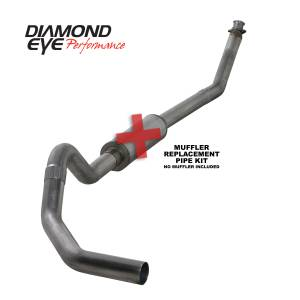 Engine & Performance - Exhaust  Systems - Diamond Eye Performance - Diamond Eye Performance 1994-2002 DODGE 5.9L CUMMINS 2500/3500 (ALL CAB AND BED LENGTHS)-4in. 409 STAINL K4212S-RP