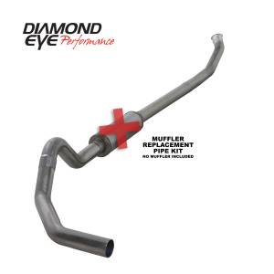 Engine & Performance - Exhaust  Systems - Diamond Eye Performance - Diamond Eye Performance 2004.5-2007.5 DODGE 5.9L CUMMINS 2500/3500 (ALL CAB AND BED LENGTHS)-4in. 409 ST K4235S-RP