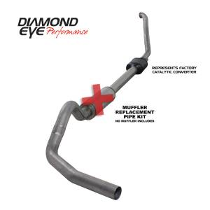 Engine & Performance - Exhaust  Systems - Diamond Eye Performance - Diamond Eye Performance 1994-1997.5 FORD 7.3L POWERSTROKE F250/F350 (ALL CAB AND BED LENGTHS) 4in. 409 S K4306S-RP