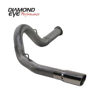 Engine & Performance - Exhaust  Systems - Diamond Eye Performance - Diamond Eye Performance 2007.5-2010 CHEVY/GMC 6.6L DURAMAX 2500/3500 (ALL CAB AND BED LENGHTS) 5in. 409 K5134S