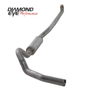 Engine & Performance - Exhaust  Systems - Diamond Eye Performance - Diamond Eye Performance 2001-2007.5 CHEVY/GMC 6.6L DURAMAX 2500/3500 (ALL CAB AND BED LENGTHS)-4in. 409 K4114S