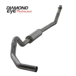 Diamond Eye Performance - Diamond Eye Performance 1994-2002 DODGE 5.9L CUMMINS 2500/3500 (ALL CAB AND BED LENGTHS)-4in. 409 STAINL K4212S