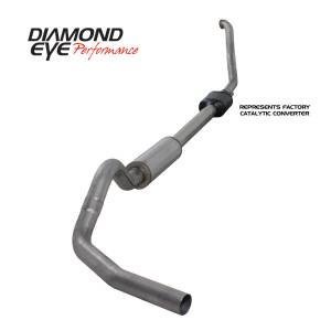 Engine & Performance - Exhaust  Systems - Diamond Eye Performance - Diamond Eye Performance 1994-1997.5 FORD 7.3L POWERSTROKE F250/F350 (ALL CAB AND BED LENGTHS) 4in. 409 S K4306S
