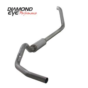 1999-2003 Ford 7.3L Powerstroke - Exhaust - Diamond Eye Performance - Diamond Eye Performance 1999-2003.5 FORD 7.3L POWERSTROKE F250/F350 (ALL CAB AND BED LENGTHS) 4in. 409 S K4318S