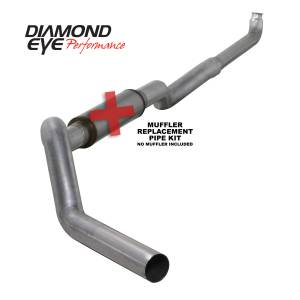 Engine & Performance - Exhaust  Systems - Diamond Eye Performance - Diamond Eye Performance 2001-2007.5 CHEVY/GMC 6.6L DURAMAX 2500/3500 (ALL CAB AND BED LENGHTS) 5in. ALUM K5118A-RP