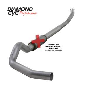 Engine & Performance - Exhaust  Systems - Diamond Eye Performance - Diamond Eye Performance 2003-2004.5 DODGE 5.9L CUMMINS 2500/3500 (ALL CAB AND BED LENGTHS)-5in. ALUMINIZ K5222A-RP