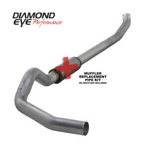 Engine & Performance - Exhaust  Systems - Diamond Eye Performance - Diamond Eye Performance 2004.5-2007.5 DODGE 5.9L CUMMINS 2500/3500 (ALL CAB AND BED LENGTHS)-5in. ALUMIN K5238A-RP