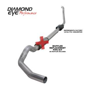 Diamond Eye Performance - Diamond Eye Performance 1994-1997.5 FORD 7.3L POWERSTROKE F250/F350 (ALL CAB AND BED LENGTHS) 5in. ALUMI K5314A-RP