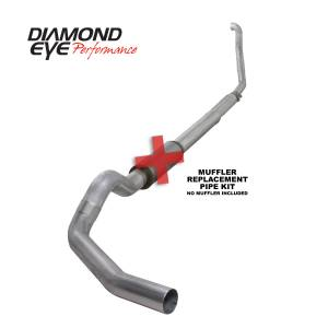 Engine & Performance - Exhaust  Systems - Diamond Eye Performance - Diamond Eye Performance 1994-1997.5 FORD 7.3L POWERSTROKE F250/F350 (ALL CAB AND BED LENGTHS) 5in. ALUMI K5315A-RP
