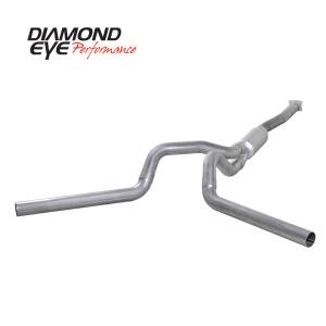 2004.5-2005 GM 6.6L LLY Duramax - Exhaust - Diamond Eye Performance - Diamond Eye Performance 2001-2005 CHEVY/GMC 6.6L DURAMAX 2500/3500 (ALL CAB AND BED LENGTHS)-4in. ALUMIN K4112A