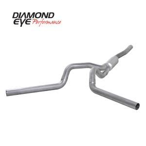 2007.5-2010 GM 6.6L LMM Duramax - Exhaust - Diamond Eye Performance - Diamond Eye Performance 2006-2007.5 CHEVY/GMC 6.6L DURAMAX 2500/3500 (ALL CAB AND BED LENGTHS) 4in. ALUM K4124A
