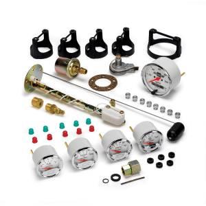 AutoMeter Gauge Kit; 5 pc.; 3 1/8in./2 1/16in.; Elec. Speedo.; Chevrolet Heritage Bowtie 1302-00408