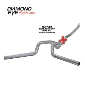 Engine & Performance - Exhaust  Systems - Diamond Eye Performance - Diamond Eye Performance 2001-2007.5 CHEVY/GMC 6.6L DURAMAX 2500/3500 (ALL CAB AND BED LENGTHS) 4in. ALUM K4116A-RP