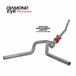 1998.5-2002 Dodge 5.9L 24V Cummins - Exhaust - Diamond Eye Performance - Diamond Eye Performance 1994-2002 DODGE 5.9L CUMMINS 2500/3500 (ALL CAB AND BED LENGTHS)-4in. ALUMINIZED K4214A-RP