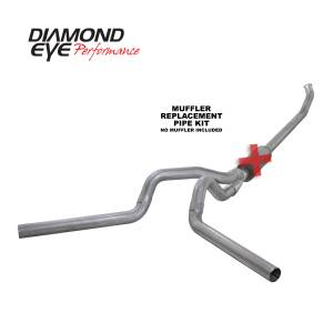 Engine & Performance - Exhaust  Systems - Diamond Eye Performance - Diamond Eye Performance 2003-2004.5 DODGE 5.9L CUMMINS 2500/3500 (ALL CAB AND BED LENGTHS)-4in. ALUMINIZ K4220A-RP