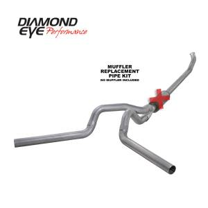 Engine & Performance - Exhaust  Systems - Diamond Eye Performance - Diamond Eye Performance 2004.5-2007.5 DODGE 5.9L CUMMINS 2500/3500 (ALL CAB AND BED LENGTHS)-4in. ALUMIN K4237A-RP