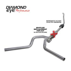 Engine & Performance - Exhaust  Systems - Diamond Eye Performance - Diamond Eye Performance 1994-1997.5 FORD 7.3L POWERSTROKE F250/F350 (ALL CAB AND BED LENGTHS) 4in. ALUMI K4308A-RP
