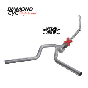 Engine & Performance - Exhaust  Systems - Diamond Eye Performance - Diamond Eye Performance 1994-1997.5 FORD 7.3L POWERSTROKE F250/F350 (ALL CAB AND BED LENGTHS) 4in. ALUMI K4309A-RP