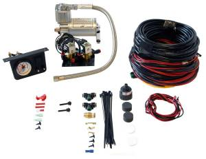 Drivetrain & Suspension - Air Bags & Components - Air Lift - Air Lift LOAD CONTROLLER I; ON-BOARD AIR COMPRESSOR CONTROL SYSTEM; DUAL NEEDLE; INSTALLA 25651