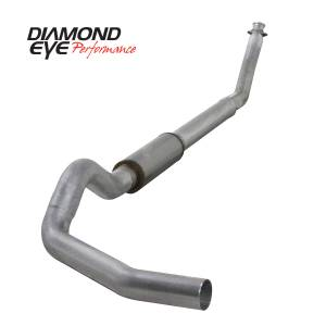 1998.5-2002 Dodge 5.9L 24V Cummins - Exhaust - Diamond Eye Performance - Diamond Eye Performance 1994-2002 DODGE 5.9L CUMMINS 2500/3500 (ALL CAB AND BED LENGTHS)-5in. ALUMINIZED K5216A