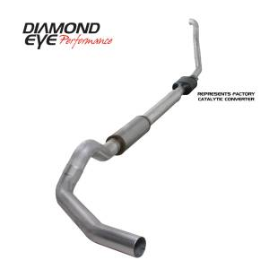 Engine & Performance - Exhaust  Systems - Diamond Eye Performance - Diamond Eye Performance 1994-1997.5 FORD 7.3L POWERSTROKE F250/F350 (ALL CAB AND BED LENGTHS) 5in. ALUMI K5314A