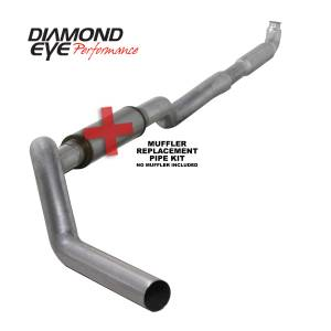 2006-2007 GM 6.6L LLY/LBZ Duramax - Exhaust - Diamond Eye Performance - Diamond Eye Performance 2001-2007.5 CHEVY/GMC 6.6L DURAMAX 2500/3500 (ALL CAB AND BED LENGHTS) 5in. ALUM K5117A-RP
