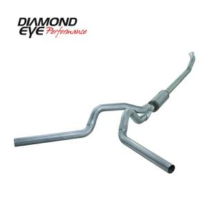 Diamond Eye Performance - Diamond Eye Performance 2004.5-2007.5 DODGE 5.9L CUMMINS 2500/3500 (ALL CAB AND BED LENGTHS)-4in. ALUMIN K4237A