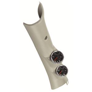 AutoMeter - AutoMeter Diesel Gauge Kit; A-Pillar; RAM 10-14; Boost/EGT; 60psi/2000deg. F; Blk; Spek-Pr P72003