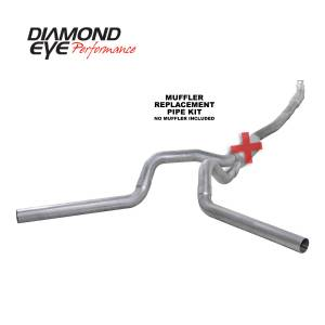 2006-2007 GM 6.6L LLY/LBZ Duramax - Exhaust - Diamond Eye Performance - Diamond Eye Performance 2001-2007.5 CHEVY/GMC 6.6L DURAMAX 2500/3500 (ALL CAB AND BED LENGTHS) 4in. ALUM K4115A-RP