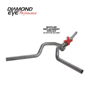 Engine & Performance - Exhaust  Systems - Diamond Eye Performance - Diamond Eye Performance 1994-1997.5 FORD 7.3L POWERSTROKE F250/F350 (ALL CAB AND BED LENGTHS) 4in. 409 S K4312S-RP