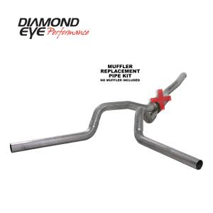 2006-2007 GM 6.6L LLY/LBZ Duramax - Exhaust - Diamond Eye Performance - Diamond Eye Performance 2006-2007.5 CHEVY/GMC 6.6L DURAMAX 2500/3500 (ALL CAB AND BED LENGTHS) 4in. 409 K4124S-RP