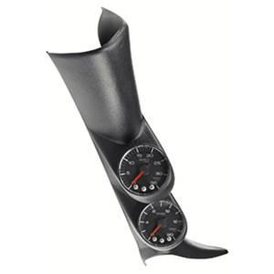 AutoMeter - AutoMeter Diesel Gauge Kit; A-Pillar; GM 00-07; Boost/EGT; 60psi/2000deg. F; Blk; Spek-Pro P72020 - Image 2