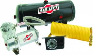 Drivetrain & Suspension - Air Bags & Components - Air Lift - Air Lift ON BOARD AIR COMPRESSOR KIT 25690